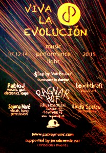 Flyer VIVA LA EVOLUCIÓN