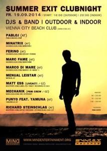 Flyer Vienna City Beach Club